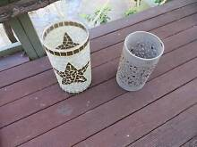 CANDLE HOLDERS x 2 ASST..  $10 the pair Sorrento Joondalup Area Preview