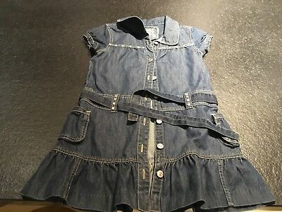 Age 8-9 denim dress with baby D on the back ,fancy dress - Costume With Baby On Back
