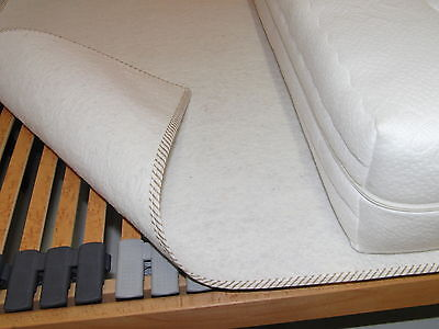Matratzenschoner Matratzenunterlage Filzschoner Matratze Unterlage