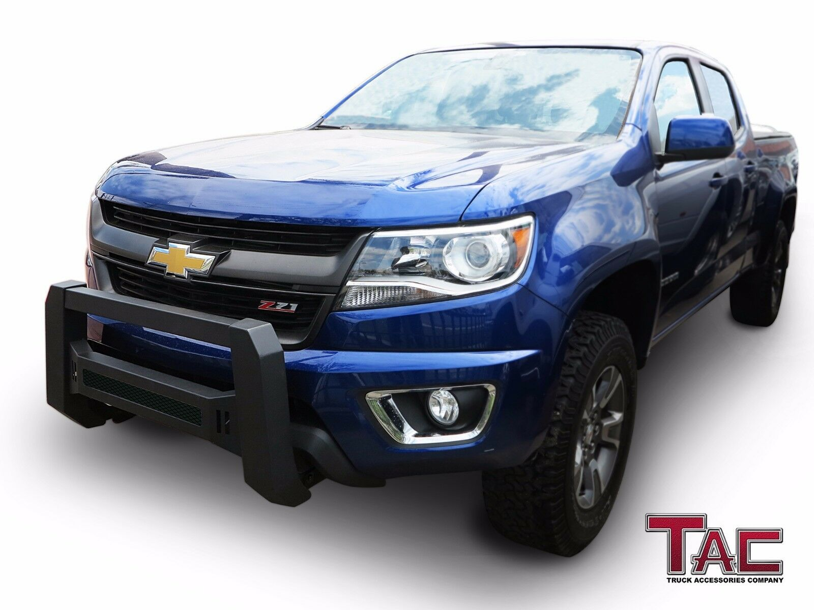 Details about Mesh Modular Bull Bar for 2015-2019 Chevy Colorado/GMC Canyon  Brush Grille Guard