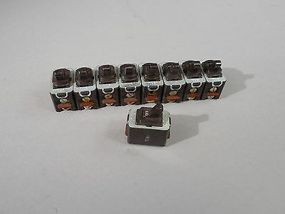 Lot Of 9 Vintage A-hh Switches