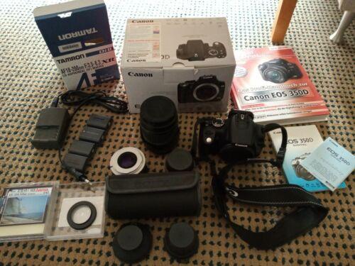 Spiegelreflexkamera Canon EOS 350D Riesen Set
