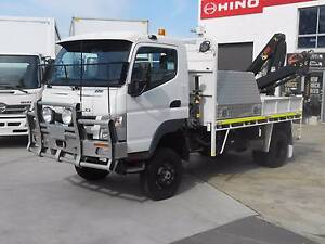 2011 Mitsubishi Canter 7/800 4x4 Old Guildford Fairfield Area Preview