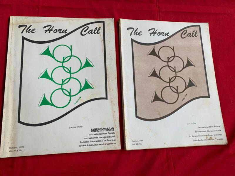 The Horn Call - 10/1990 & 10/1991