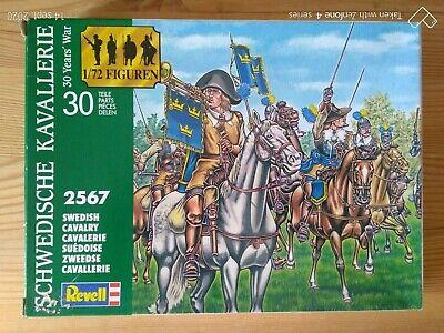 Niños Soldados de Plástico Revell 1/72è Sueco Cavalry De Grupo