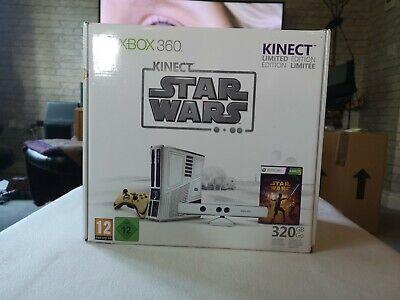 Microsoft Xbox 360 Limited Edition Kinect Star Wars Bundle 320GB Hardly Used
