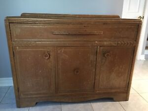 Go Back In Time Beautiful Vintage Antique Rustic Hutch