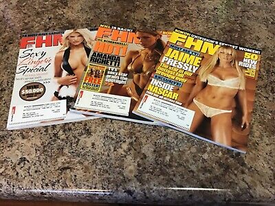 FHM Magazine 3 Issue Lot From 2005