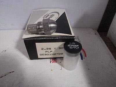 Monarch Oil Burner Nozzle 2.25 X 90 Plp Semi-solid New Nos Fuel Furnace