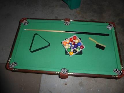 Childs Table Chalkboard Toys Indoor Gumtree Australia - Pool table chalk board