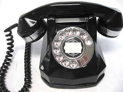Automatic Electric AE40  Beautifully Restored Art Deco Rotary Telephone