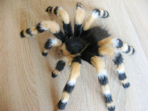 "Fake Insect 9"" Plush Spider Art Doll Handmade Tarantula Realistic Fur Toy"
