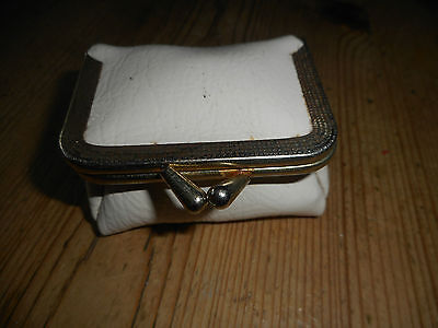 vintage travelling sewing  purse.