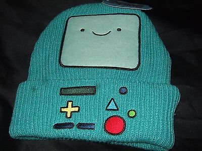Nwt Cartoon Network Adventure Time Beemo Watchman Bmo Game Controller Beanie Hat