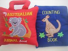 2     CHILDREN  COUNTING  BOOKS   Soft  Activity Avoca Beach Gosford Area Preview