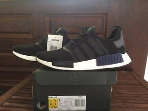 Adidas NMD Black / Blue | Brand New with tags | US 9.5 UK 9 Matraville Eastern Suburbs Preview