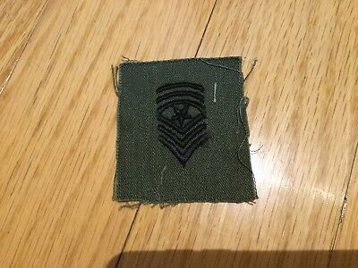 Vietnam Era Sargent Major Patch Insignia