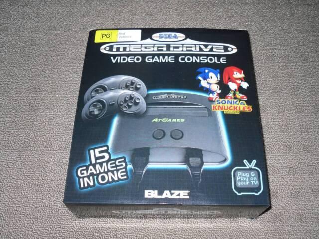 Sega Mega Drive Video Game Console 15 Games in 1 | Video Games ...