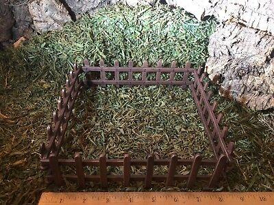 Corral Fence Paddock for Nativity Village Animals Presepio Pesebre Corral - Nativity Animals