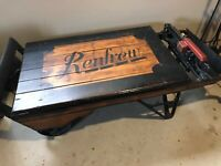 Antique scale- great coffee table