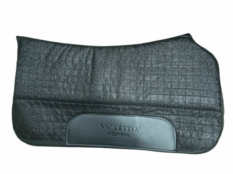 (New) Lettia Sparkle Coolmax Western Pad Black