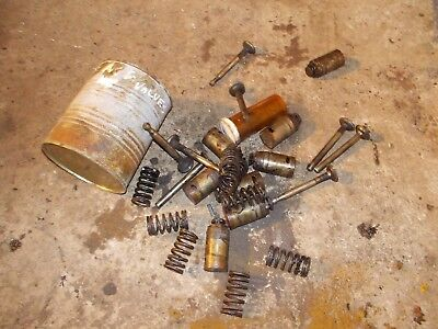 Allis Chalmers G Tractor Ac Engine Motor Lifter Lifters Valves Springs Keepers