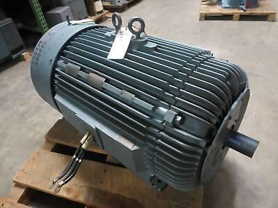 Rebuilt Reliance 200 HP 449TZ 1190 RPM 440V Duty Master A-C Motor 200HP AC