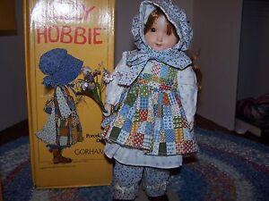 Holly Hobbie Porcelain Doll Ebay