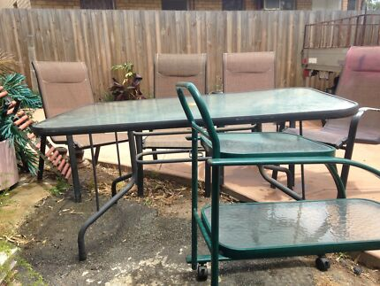 Wanted: Outdoor glass table and chairs