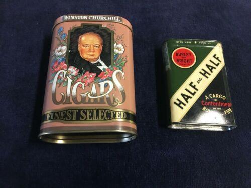 Cigar and Tobacco Tins