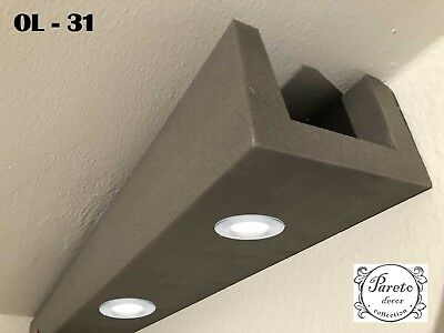 20 Meter LED LichtStrahl Spots Profil für indirekte Beleuchtung XPS OL-31