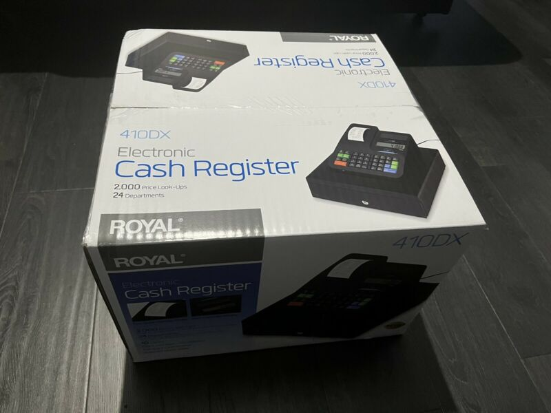 ✅ IN HAND ✅ Royal 410DX Electronic Cash Register Brand New