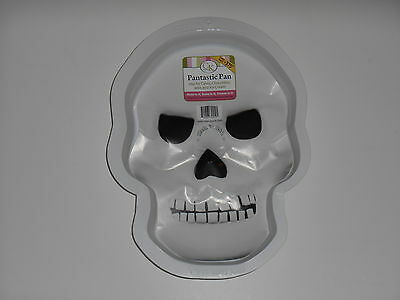 New CK PRODUCTS Skull Halloween Stone Cold Pantastic Plastic Party Cake Pan Mold - Cold Stone Halloween Cakes