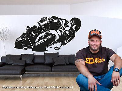 119 Wand (Wandtattoo Ducati - Motorrad - MotoGP Wandaufkleber Aufkleber Sticker)