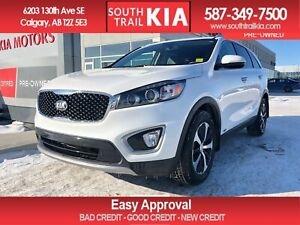 2016 Kia Sorento EX, AWD, LEATHER SEATS, MOON ROOF, HEATED STEER