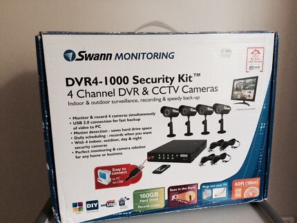 4 channel DVR & CCTV cameras Canning Vale Canning Area Preview