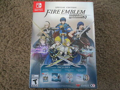 Ships Today  New Fire Emblem Warriors  Special Edition Nintendo Switch Limited