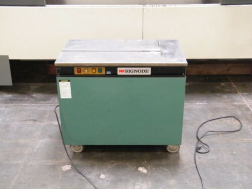 Signode Semi Automatic Table Top Strapping Machine 115 Volt Ms-t Packaging