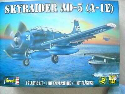REVELL-1/48-#5327-SKYRAIDER AD-5(A-1E) for sale  Darien