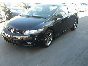 2010 Honda Civic Si Coupe with Performance Tires
