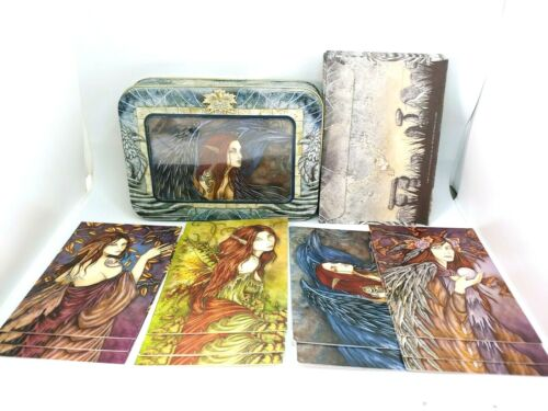 Amy Brown #4 Morrighan 12 Note Cards with Envelopes in Collectible Tin 2004.
