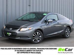 2013 Honda Civic EX HEATED SEATS | BACK UP CAM | SUNROOF