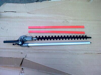 Extra long, 56cms, long reach petrol Hedge Trimmer attachment complete 9-spline