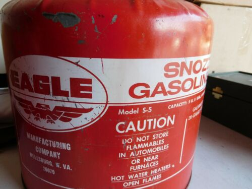 Vintage Eagle Gas Can Model S-5
