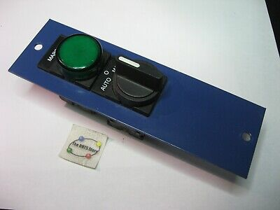 Telemecanique Switch And Indicator Panel Assembly 6-38 X 2 - Used Qty 1