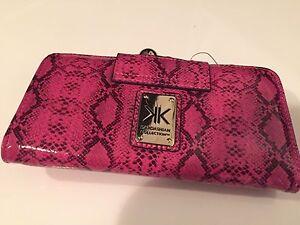 Pink Snakeskin Kardashian Kollection Wallet Fairfield Fairfield Area Preview