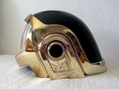 Used, Volpin Daft Punk Helmet, Gold Chrome! DJ PARTY EVENT !  for sale  Shipping to United States