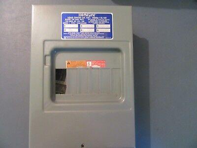 Square D Homeline 100 Amp 6-Space 12-Circuit Flush Mount Main Lug Load Center 100a Flush Load Center