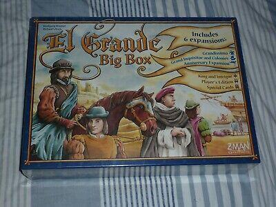 Z-Man El Grande Big Box Board Game - English Language ** NEW...