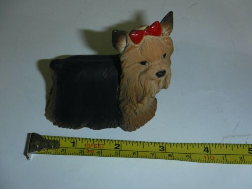 Yorkshire Terrier Yorkie Dog Red Bow